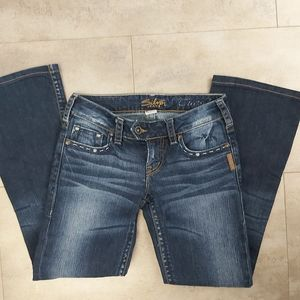 📣2/36$📣 Silver jeans Tuesday dark wash size 25